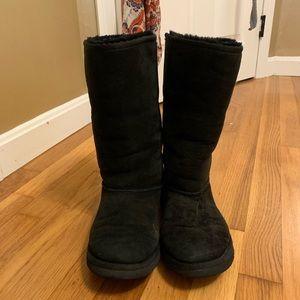 UGG Australia black tall boots